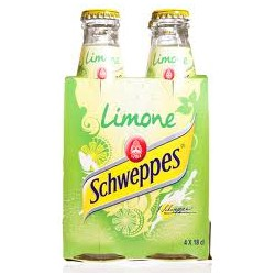 schweppes lemon 0.18 cl x 4